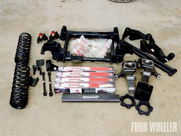 hummer H2 Suspension rancho Lift Kit Photo 17509201 | H2 parts