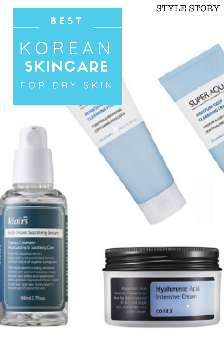 Best Korean Skincare Products For Dry Skin Kbeauty Koreanskincare Korean Skincare Skin Care Skin Care Pimples