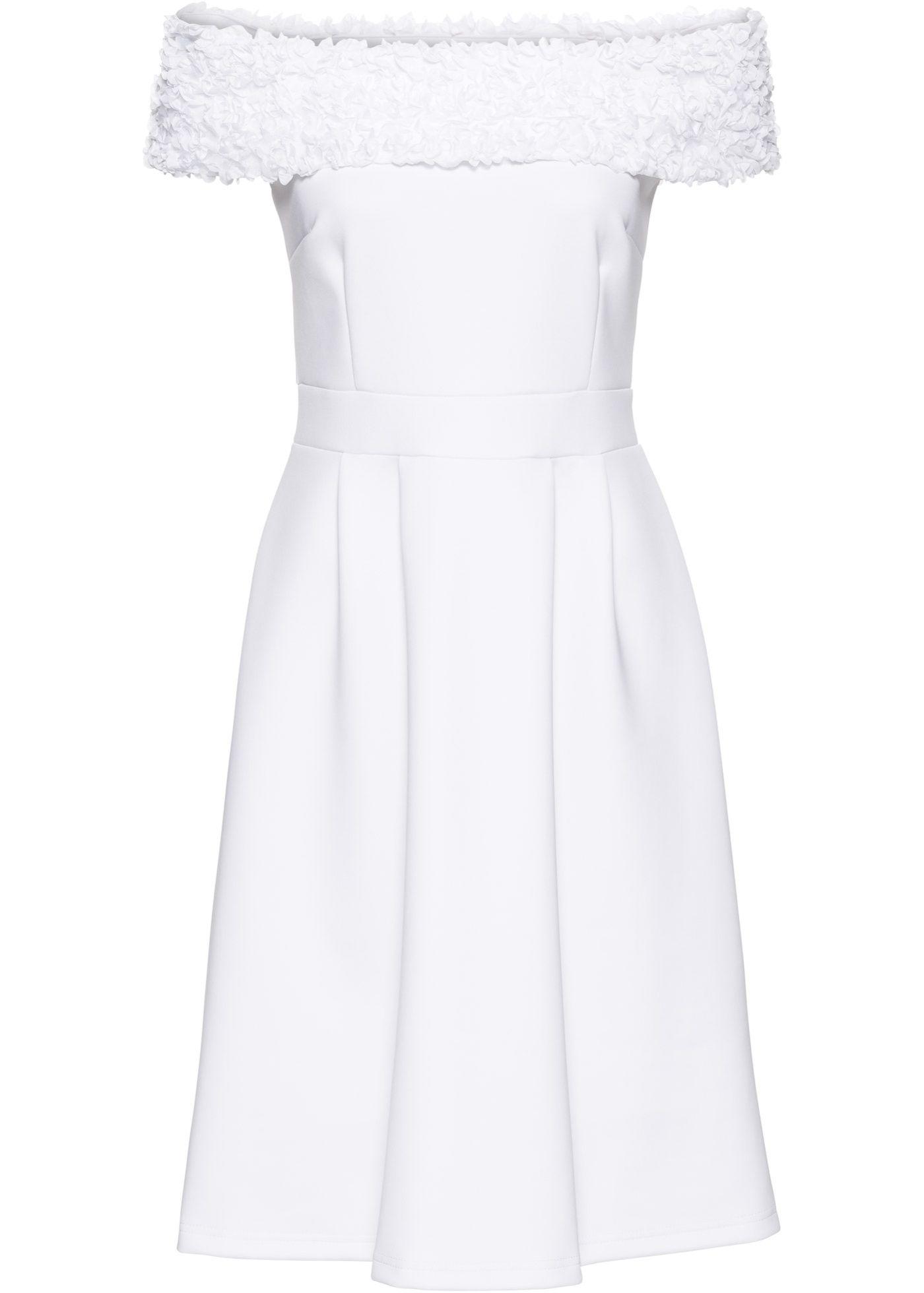 kleid weiß - bodyflirt boutique jetzt im online shop von
