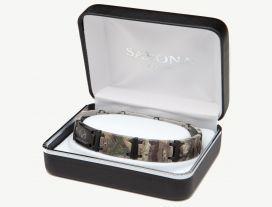 Realtree Xtra Camo Black Magum Link Bracelet