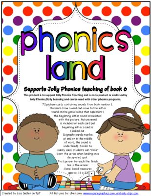 Phonics Land Phonics Board Game - Group SEVEN   proyectos escolares ...