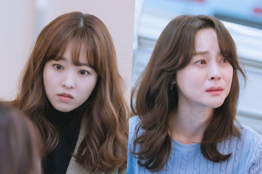 """Park Bo Young Is Shocked By Woo Hee Jin's Emergency Situation In """"Doom At Your Service"""""""