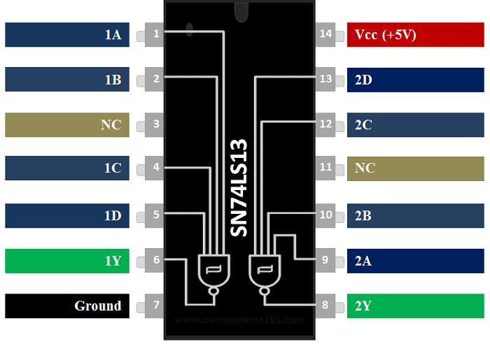 Circuit Integre LM311N