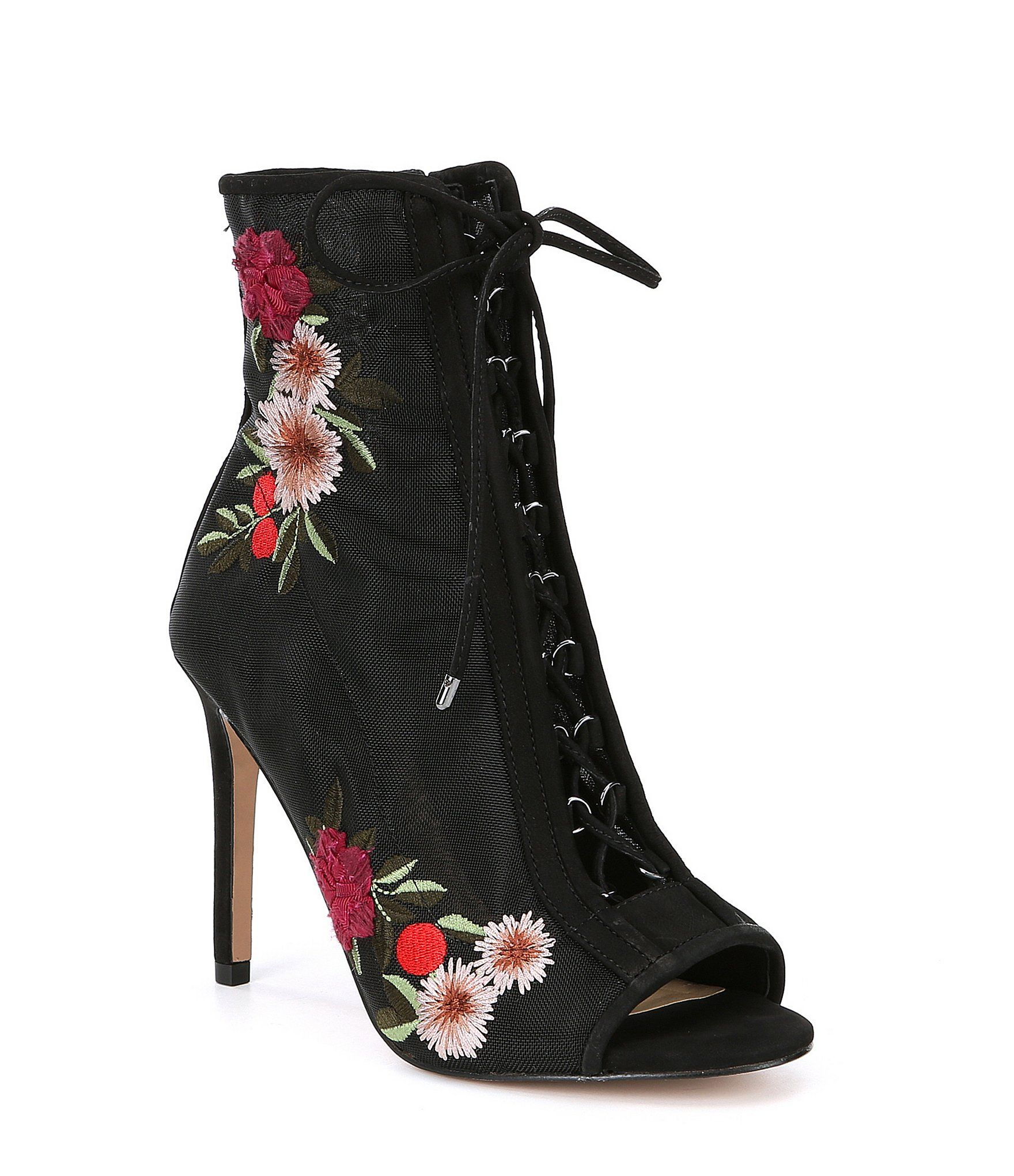 3080dd2d6d1 Gianni Bini Janan Floral Mesh Laceup Shooties #Dillards | Shoes in ...