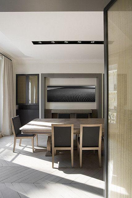 Olivier lempereur french minimalist inspiration barres salle manger deco et mobilier de for Mobilier contemporain luxe
