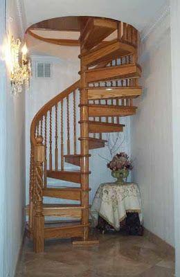 Dise os de escaleras en espiral dise o de escalera - Escalera en espiral ...