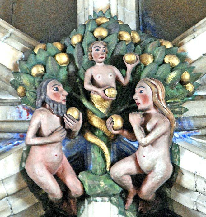 Mens Naked Man Fancy Dress Costume Adam And Eve Garden Of Eden Fig Leaf Outfit