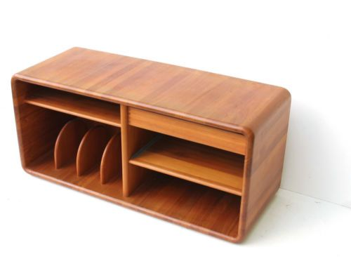 Design Tv Schrank teak massiv sideboard tv schrank hifi board design midcentury