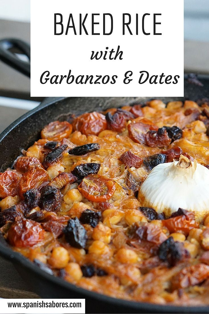 Baked rice with garbanzos and dates recipe baked rice rice and baked rice with garbanzos and dates forumfinder Gallery