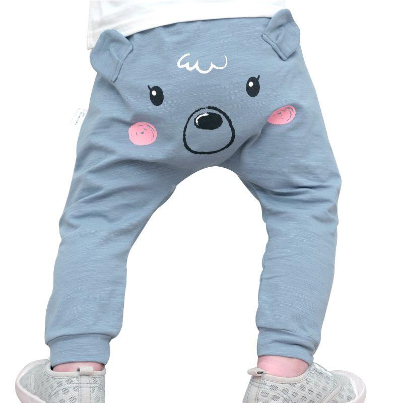 Cheap Oso de dibujos animados Niños Pantalones algodón bebé grande PP  Pantalones animal primavera otoño infantil 02b10edf578