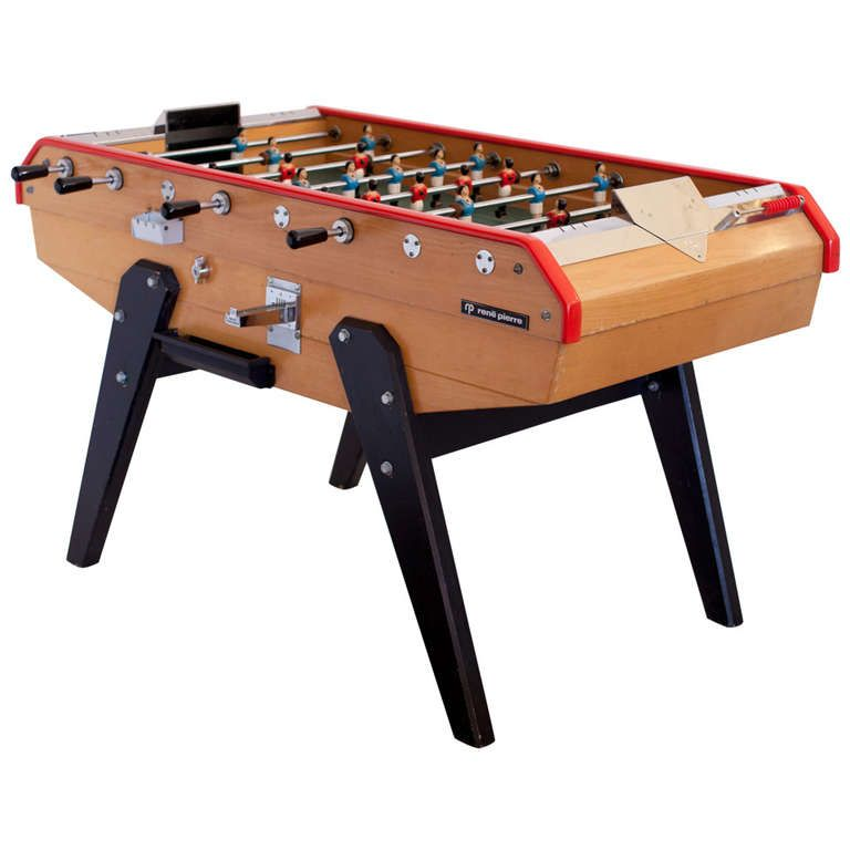 French Vintage Rene Pierre Foosball Table 桌游 Pinterest - Antique foosball table for sale