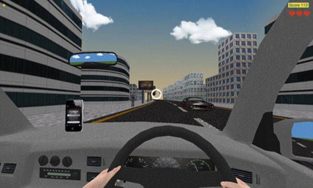 virtual reality driving lessons visuals