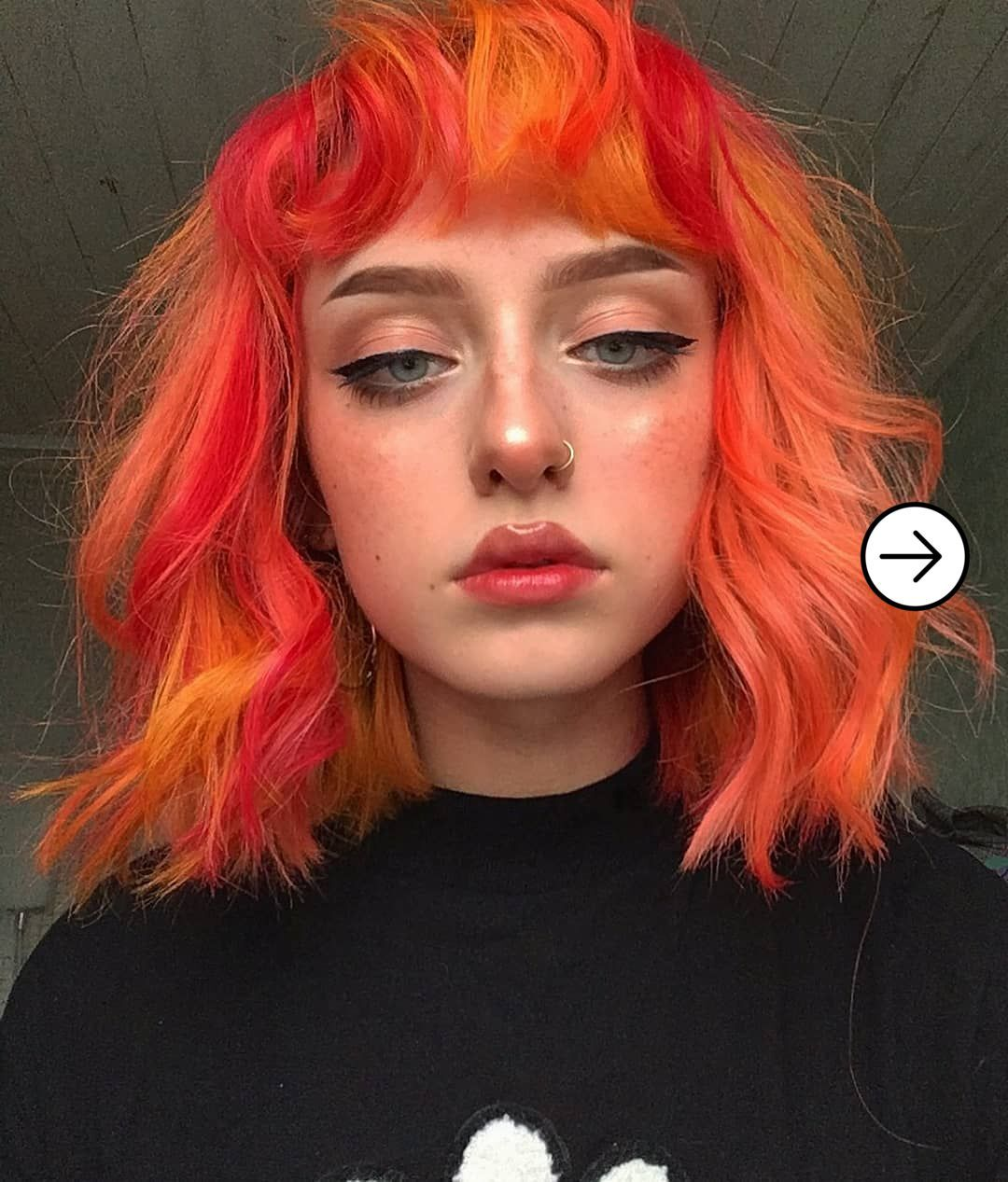 20 Inspiration Of Egirl Makeup You Can Do In 2020 In 2020 Hair Color Orange Peach Hair Peach Hair Colors