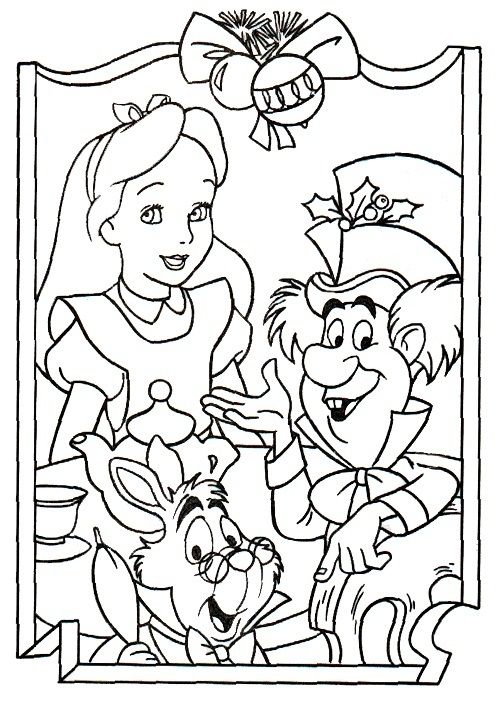 Free Printable Alice In Wonderland Coloring Pages For Kids Disney Coloring Pages Coloring Pages Cool Coloring Pages