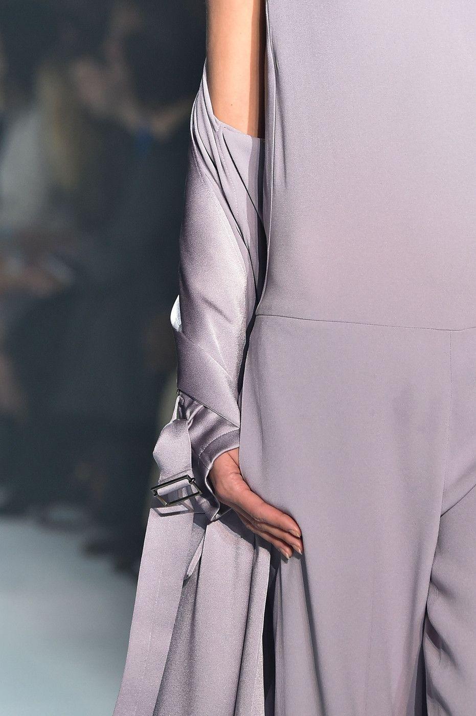 Haider Ackermann at Paris Fashion Week Spring 2015.