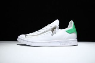 0eb36c8d7583 Adidas Y- 3 Stan Smith BB4795 Yohji Yamamoto Stan Zip White Green Mens  Womens Trainers Shoes