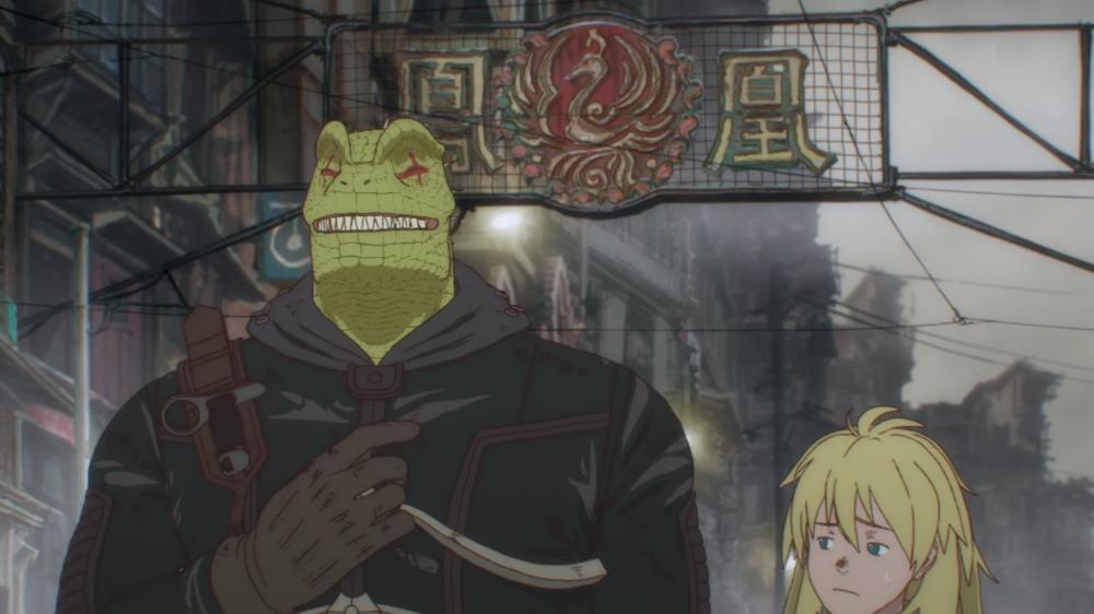 Dorohedoro episode 1 anime review em 2020 Anime