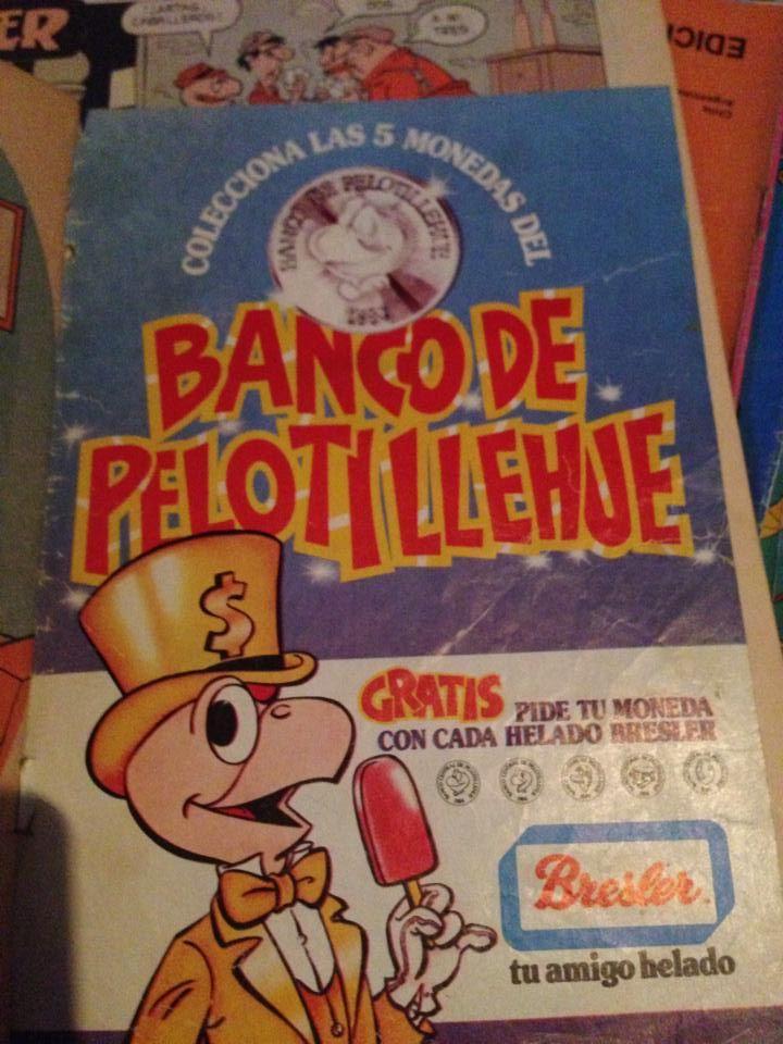 Un clasico de clasicos, directamente del Banco de Pelotillehue ...