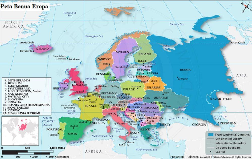 Eropa Timur Gambar Peta Benua Eropa Peta Benua Eropa Lengkap Gambar Hd Negara Dan Keterangannya Eropa Peta Gambar