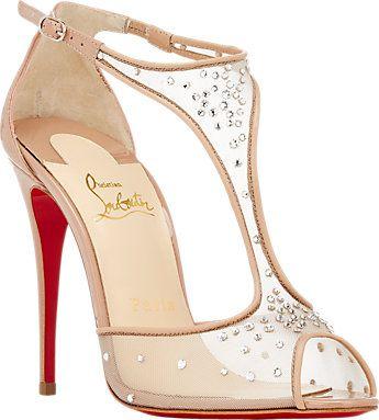 Christian Louboutin Embellished Patinana Sandals - Sandals - Barneys.com