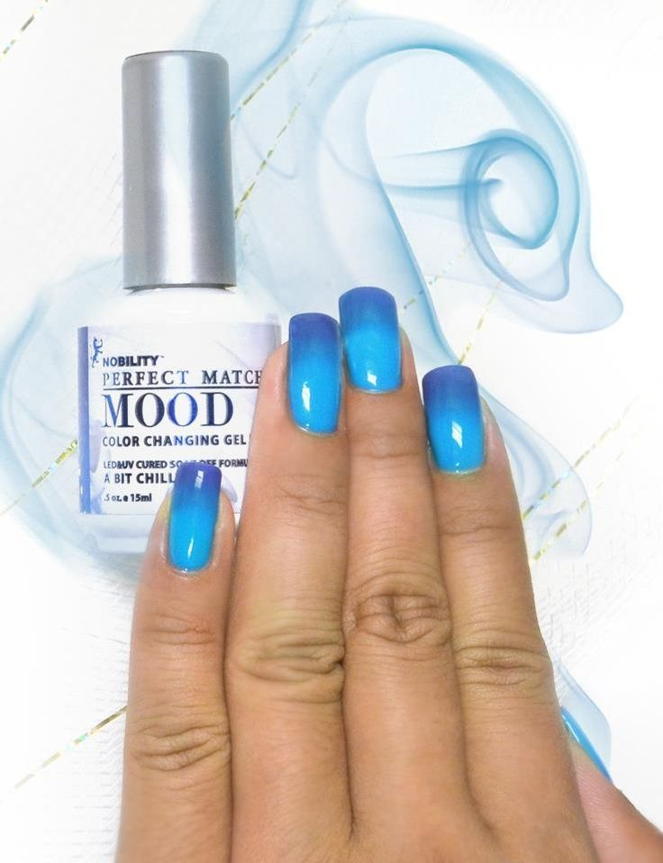 mood gel polish | LeChat Mood Gel Polish - A Bit Chilly | Products ...