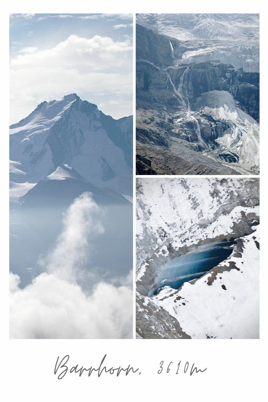 Le Barrhorn 3610m Plus Haut Sommet De Rando Des Alpes Rando Voyage Suisse Alpes
