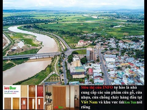 Providing wooden doors, plastic doors, beautiful fire-proof doors in Kon Tum
