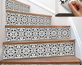 15steps Stair Riser Vinyl Strips Removable Sticker Peel U0026 Stick : M024b