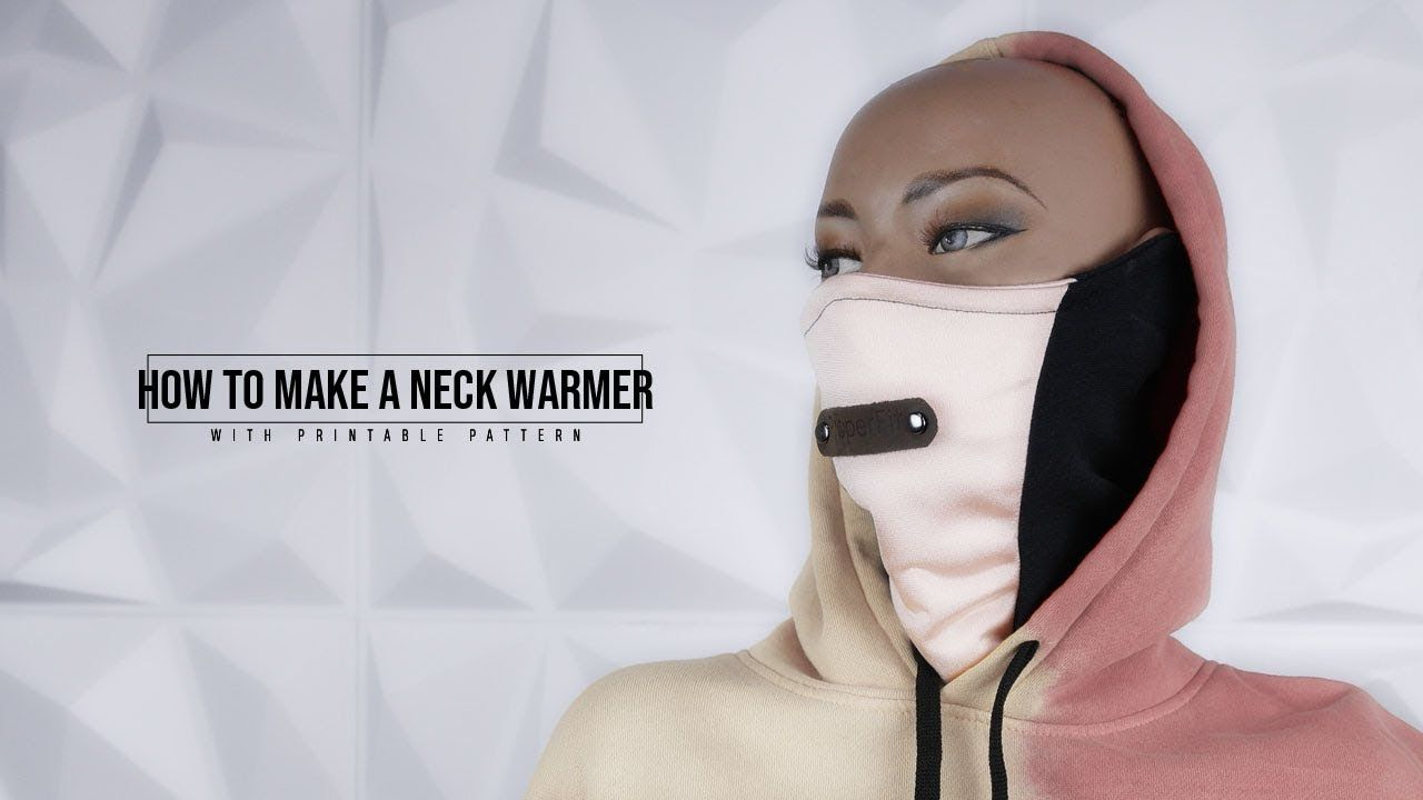 How To Make A Neck Warmer Neckwarmer Gaiter Neck Warmer Warm