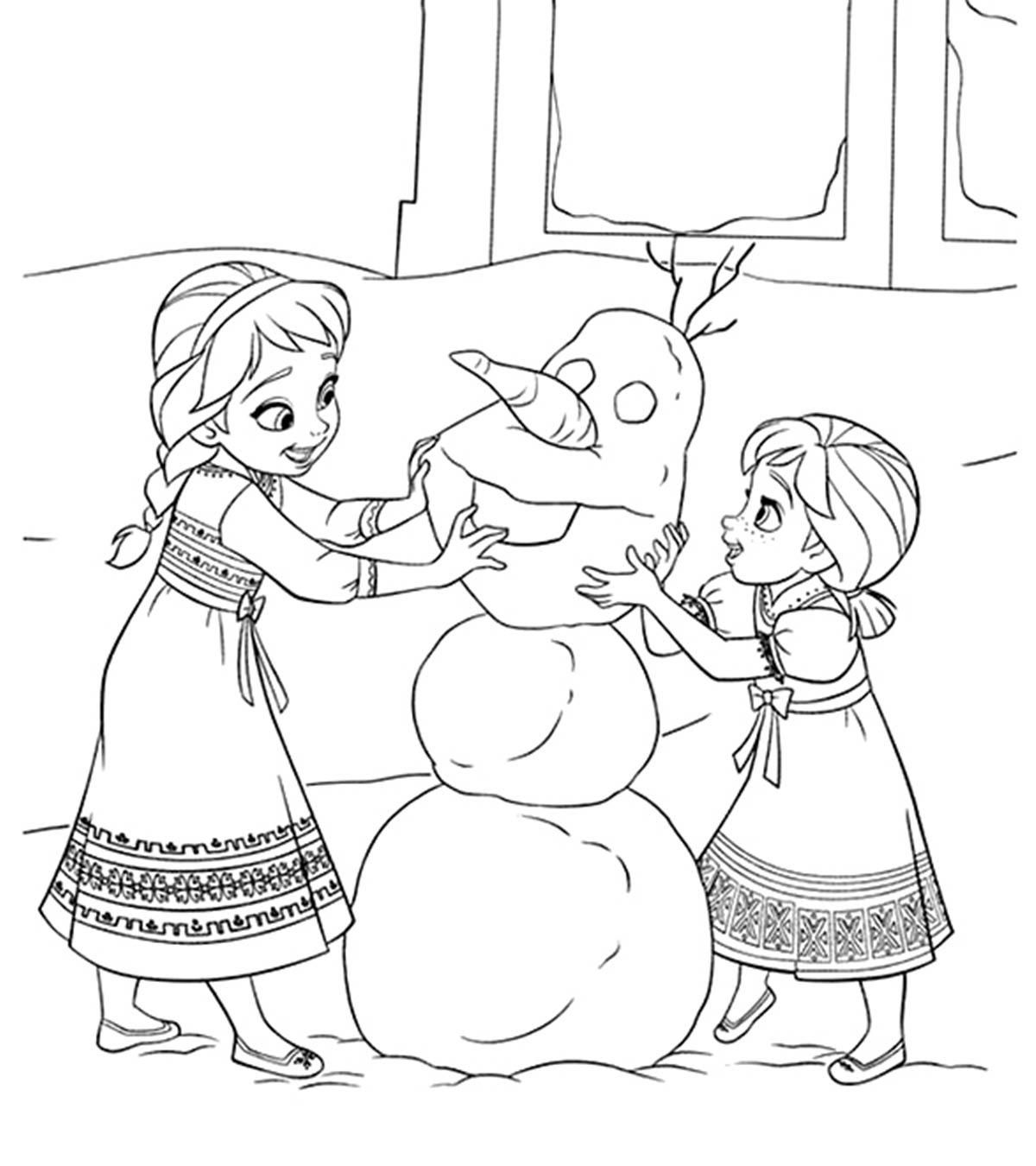Awesome Coloring Pages Princess Elsa That You Must Know You Re In