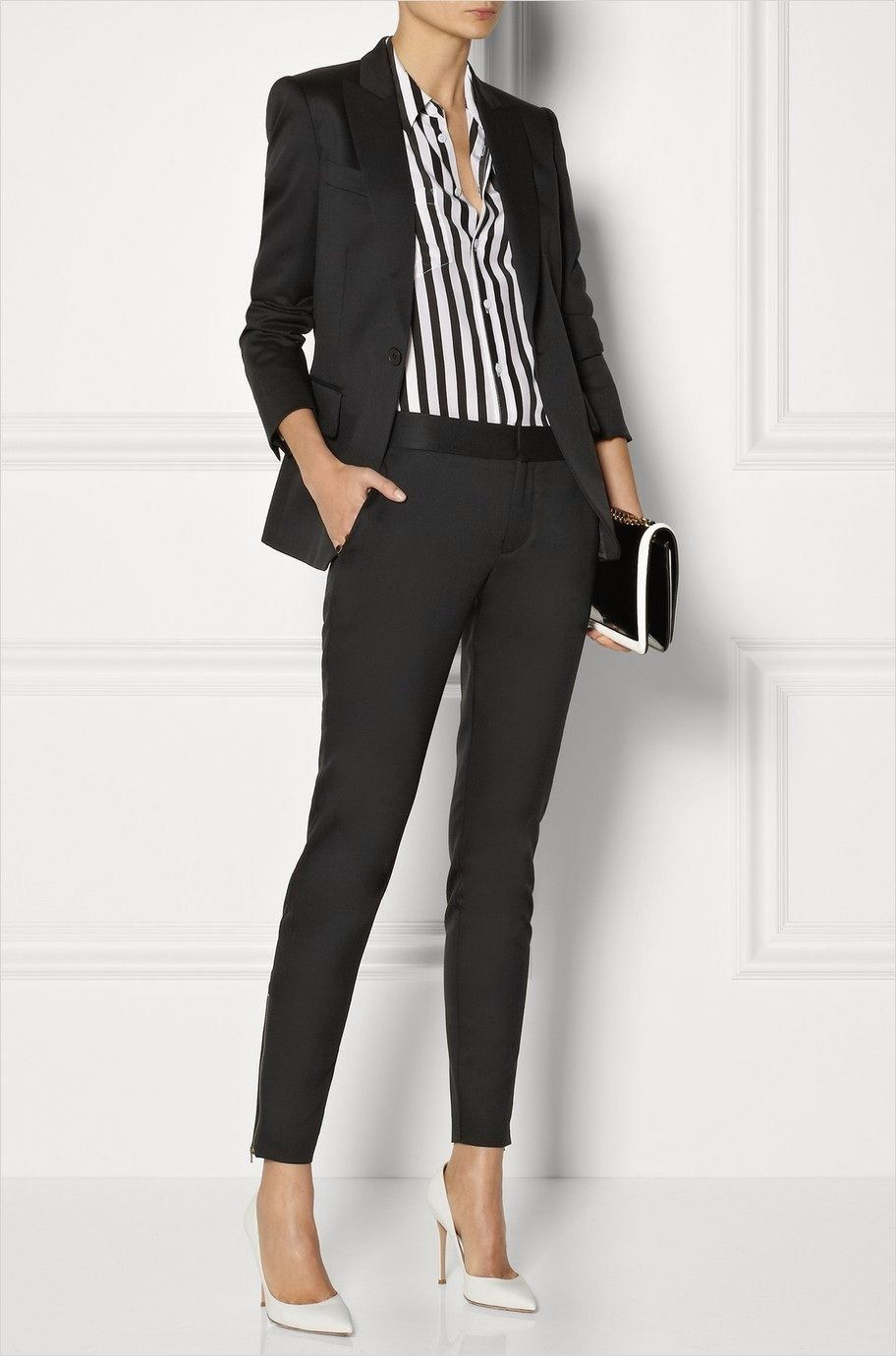 42 Adorable Edgy Business Casual for