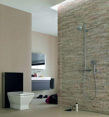 Douche italienne  28 modèles et conseils du0027installation - idee de salle de bain italienne