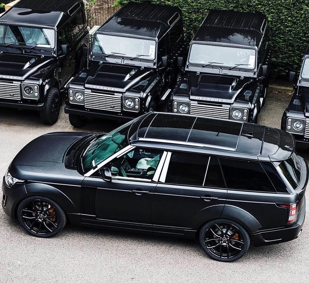 triple black range rover vogue luxury cars pinterest black range rovers triple black and. Black Bedroom Furniture Sets. Home Design Ideas