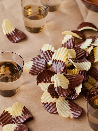 Chocolate-Covered Potato Chips;