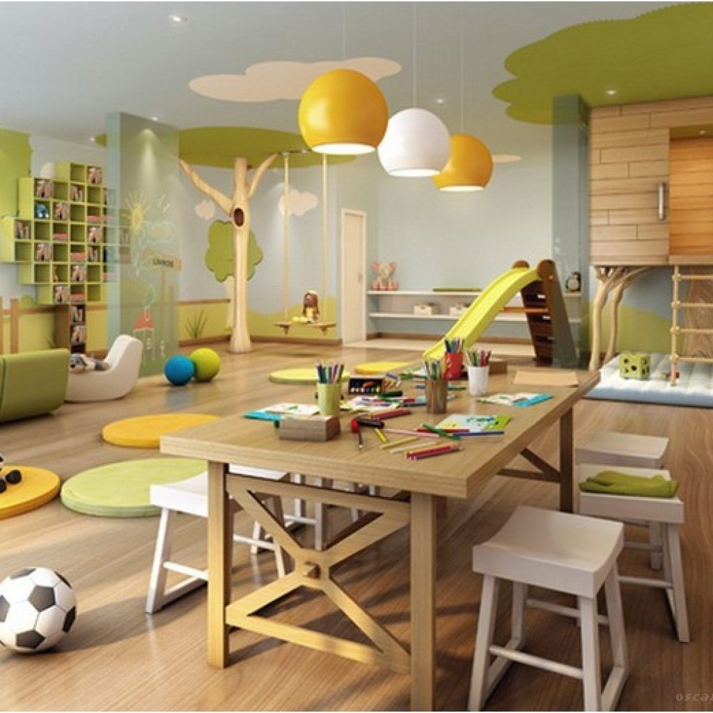 Colorful Contemporary Playroom Ideas: 99+ Inspiration