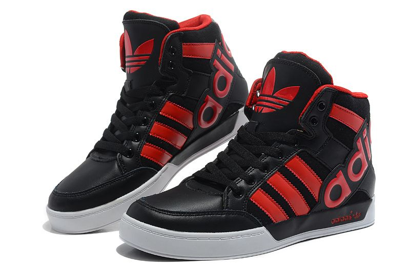 Adidas Originals Shoes Black Red