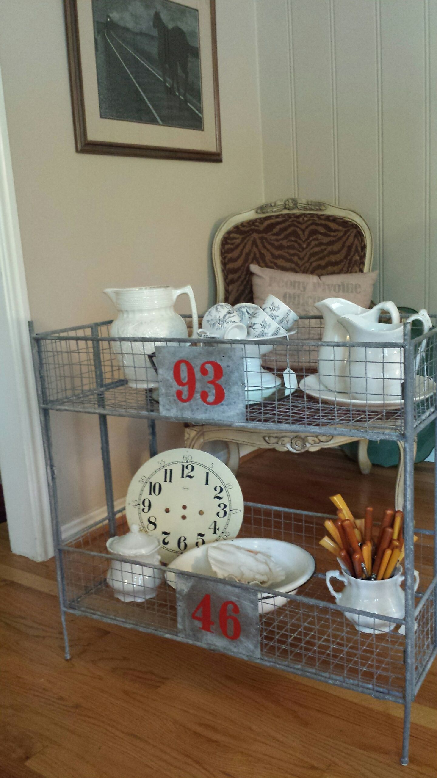 Cool galvanized metal storage container? Great to display ...