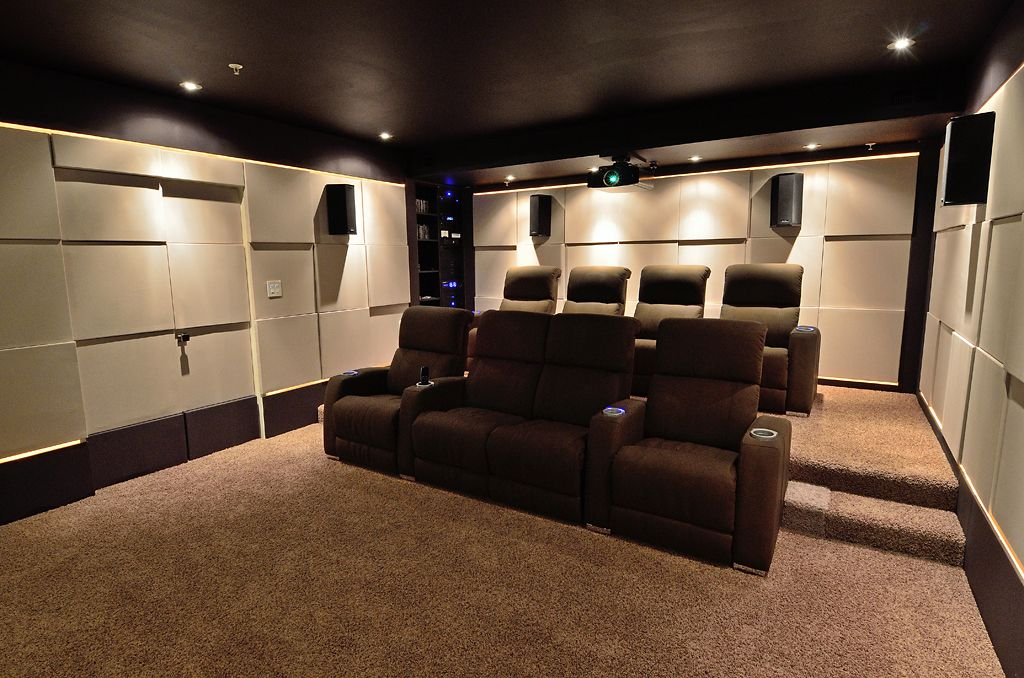 My New Home Theater 2 0 Staggered Wall Ht Avs Forum