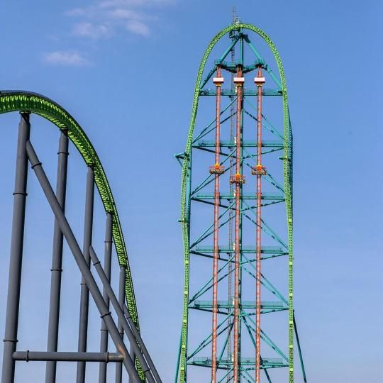 Happy National Roller Coaster Day The 7 Scariest Rides In The U S Six Flags Great Adventure Roller Coaster Six Flags