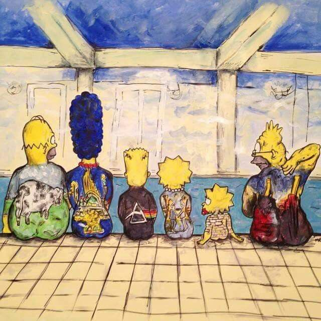 Pink Floyd on Simpsons 2 | Pink Floyd | Pinterest | Pink floyd, Rock ...