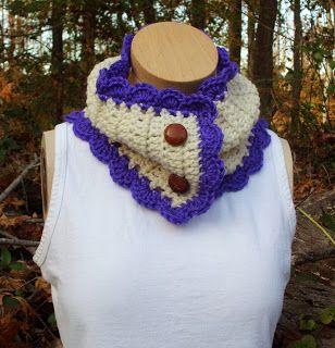 Rose Cottage Crochet: Crochet Neck Warmer Pattern Tutorial