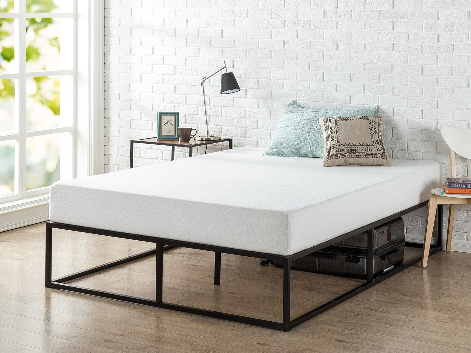 People Are Obsessed With This 130 Bed Frame From Amazon