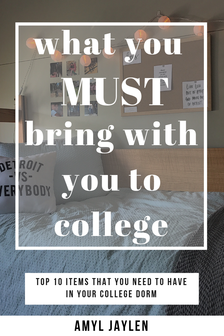 10 Items you MUST Bring to College images