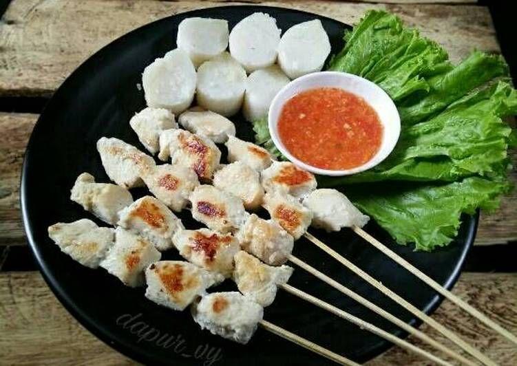 Resep Sate Taichan Sate Putih Oleh Dapurvy Resep Resep Resep Masakan Indonesia Resep Masakan Asia