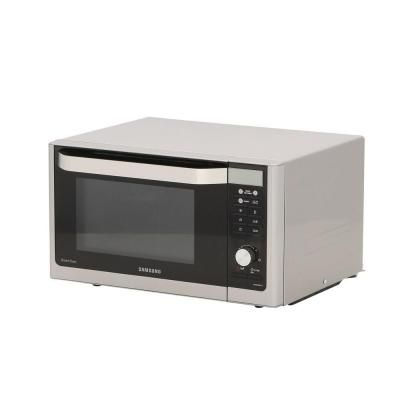 Samsung 1 1 Cu Ft Countertop Convection Microwave In Stainless Steel With Slim Fry Technology Mc11h6033ct The Ho