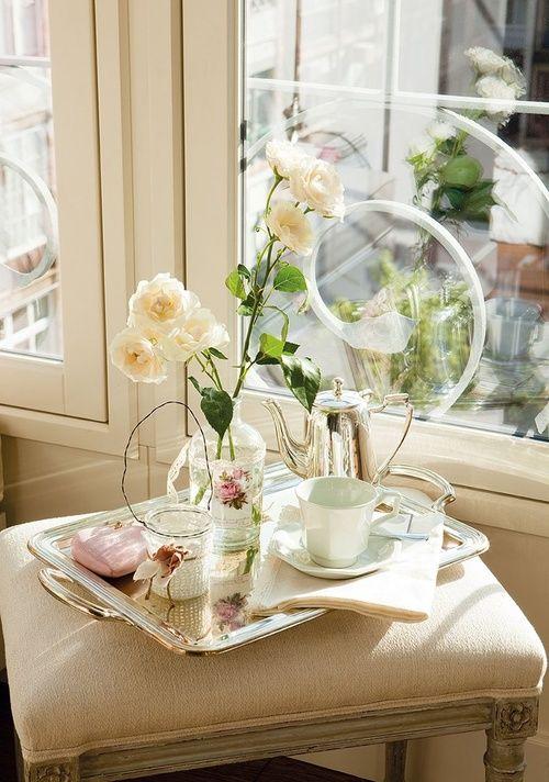 GOOD MORNING SUNSHINE #lovely #breakfast #tray ♥