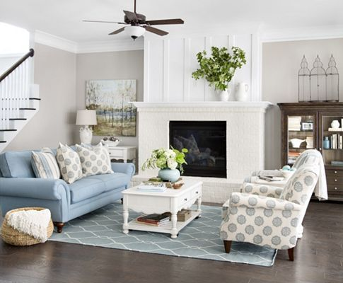 Welcome Home, Living Rooms | Havertys Furniture | Coastal Cottage ...
