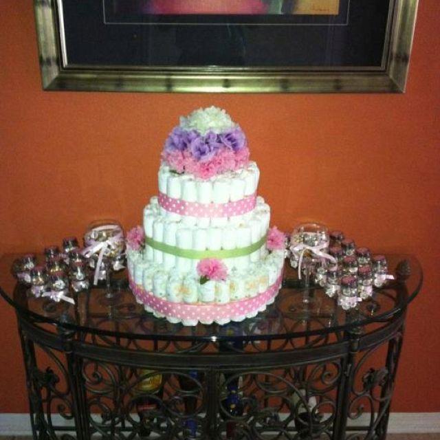 Babyshower diaper cake