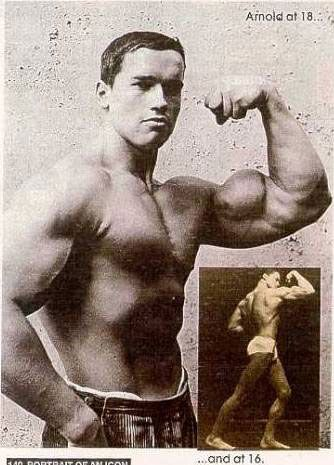 Young Arnold Schwarzenegger At 18 | Strong & Handsome ...