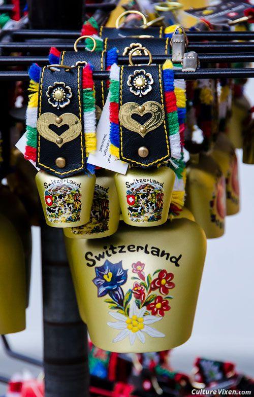Swiss Cow Bells for the souvenir hunter.